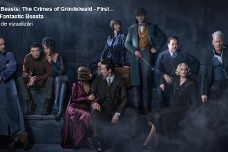 FOTO. Primele imagini cu Jude Law în rolul lui mult iubitului vrăjitor Dumbledore