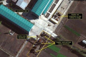 """Experți: Phenianul lucrează """"agresiv"""" pentru dezvoltarea arsenalului nuclear"""