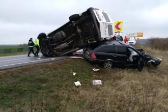 Accident grav în Olt: un bărbat a murit