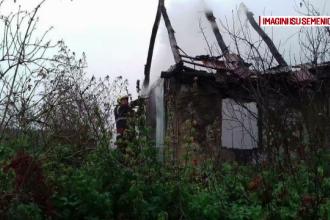 Un bărbat din Caraș Severin a murit în incendiu, după ce a adormit cu țigara aprinsă