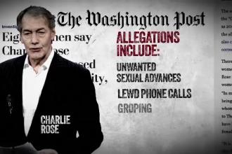Charlie Rose, concediat după ce a fost acuzat de hărțuire sexuală de 8 femei