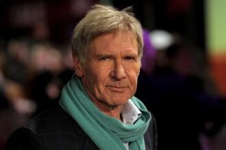 Harrison Ford a salvat o femeie prinsă în maşină după un accident