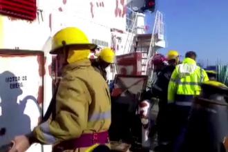 Trei marinari răniți în urma unui incendiu izbucnit în Portul Constanța