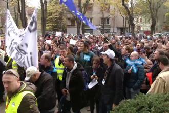 Capitala, scena unui protest de amploare. Sindicaliștii ies in stradă pe 12 decembrie