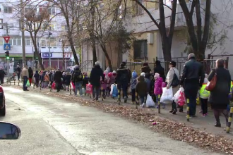 300 de elevi din Iași întind o mână de ajutor copiilor din familii sărace