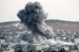 Raiduri aeriene ruse, în Siria: cel puţin 53 de civili, dintre care 21 de copii