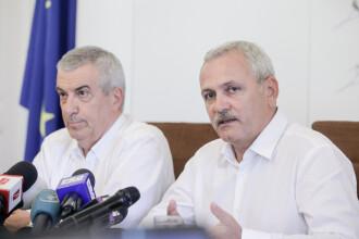 """Dragnea și Tăriceanu, răspuns pentru liderii Comisiei Europene: """"Ne exprimăm îngrijorarea că a fost informată incorect"""""""