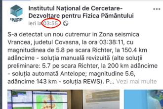 Aplicațiile care trimit avertizări înainte de cutremur ar putea fi interzise în România