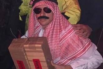 Un fotbalist s-a deghizat în arab care plasează bombe, de Halloween. Ce a urmat