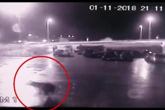 """Oamenii și animalele, în pericol pe drumurile din Sibiu: """"Se poate întâmpla o nenorocire"""""""