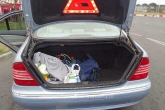 Descoperire ireală în portbagajul unui Mercedes cu numere de Bulgaria