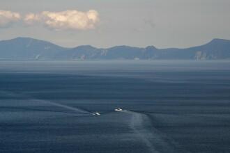 O insulă japoneză a dispărut peste noapte. Navele Pazei de Coastă o caută fără succes