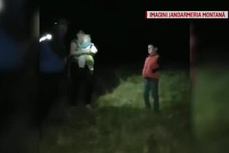Familie cu copil de un an, rătăcită în munţii Ciucaş. Jandarmii i-au căutat ore întregi