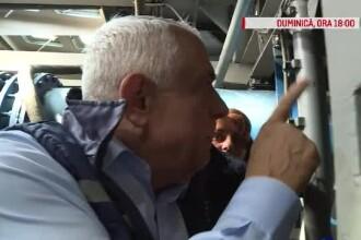 """""""Domnule ministru, nu sunt prea vechi motoarele?"""" Reacția lui Petre Daea la inaugurarea unei stații de 43 de ani"""