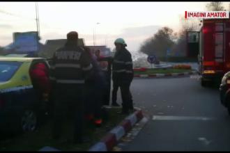 Un taximetrist și-a pus în pericol propriul fiu. Gestul care i-a băgat în spital
