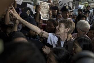 Ce a pățit o măicuță care l-a înfuriat pe președintele Rodrigo Duterte