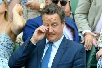 David Cameron vrea înapoi în politică pentru că este