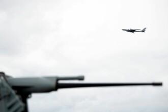 Avion rusesc interceptat în apropierea zonei unde NATO desfășoară un exercițiu militar