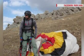 Un paraşutist român a murit în Alpi chiar sub ochii prietenilor săi.