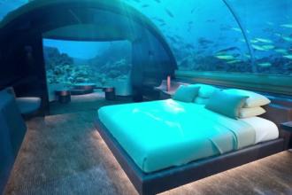 Hotelul din insulele Maldive în care o noapte de cazare costă 50.000 de dolari