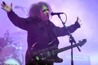 Legendara trupă The Cure concertează pentru prima dată în România