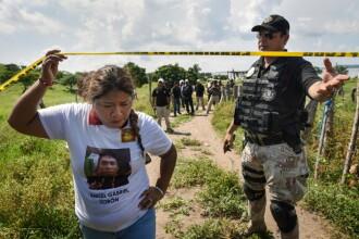 Povestea sfâșietoare a unor mame din Mexic care caută o groapă comună cu trupurile copiilor lor dispăruți