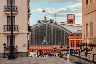 Gara Atocha din Madrid, evacuată. Ce s-a găsit într-o geantă abandonată