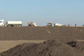 Ungurii construiesc autostrada care va lega Budapesta de România cu balast de la noi. Când va fi gata
