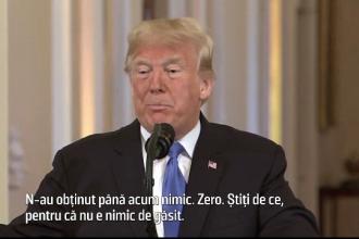 """Trump critică democrații, după victoria în Camera Reprezentanțior: """"N-au obținut până acum nimic"""""""