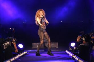 VIDEO cu momentul în care Shakira izbucnește în lacrimi în fața fanilor din țara sa natală