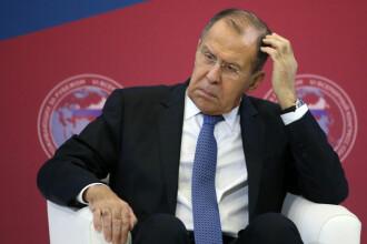 """Uniunea Europeană şi-a """"distrus"""" relaţiile cu Rusia, consideră Serghei Lavrov"""