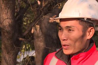 Ce spune un vietnamez despre salariul primit în România pentru munca pe care o depune pe șantier