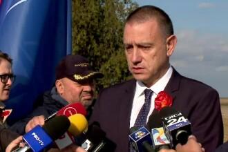"""Ministrul Apărării, la baza aeriană Mihail Kogălniceanu: """"Acţiunile Rusiei continuă să fie agresive"""""""