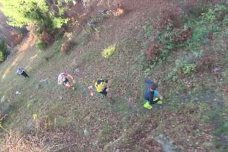 Concurs inedit în Parâng. Cu ce s-au luptat participanții pentru a ajunge în vârful muntelui