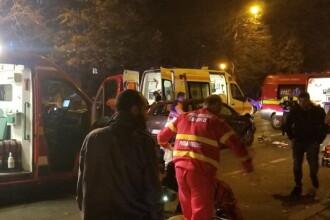 O mașină a intrat într-un grup de pietoni, la Constanța. VIDEO