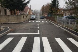 """Nouă """"zebre"""" pe o distanță de 300 de metri, pe o stradă înfundată, în Suceava. FOTO"""