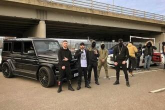 Luxul cu care se laudă o bandă de traficanți de droguri albanezi. Imaginile publicate online