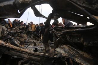 Zeci de rachete lansate de palestinienii din Gaza. Replica Israelului