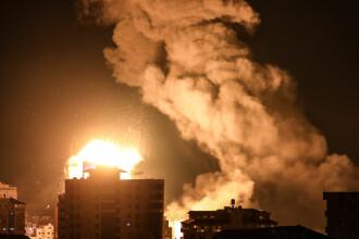 Nouă escaladare a tensiunii în Fâşia Gaza. Palestinienii au lansat sute de rachete, israelienii au ripostat