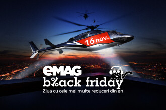 8 produse care se vor afla în oferta eMAG de Black Friday