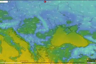 Un val de aer polar se îndreaptă spre România. Avertismentul autorităților pentru șoferi