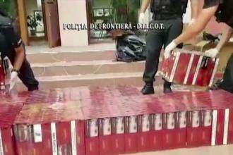 Anchetă la un sediu de poliție, după ce peste 20.000 de pachete de țigări au dispărut