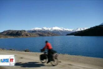 Povestea românului care a traversat America, de la nord la sud, cu bicicleta