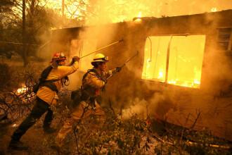 Tot statul California a devenit un uriaş focar de incendiu. Focul s-ar putea extinde în tot vestul SUA