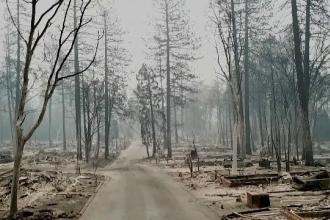 Pompierii au reuşit să controleze în proporţie de 90% cel mai ucigător incendiu din istoria Californiei