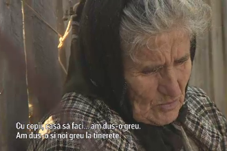 """Povestea bunicii Maria, pusă pe drumuri din cauză că n-are medic în sat: """"Am cârmi, da' n-avem unde"""""""
