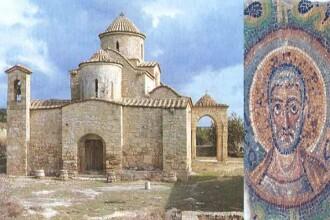 Unde a fost găsit un mozaic vechi de 1600 de ani furat acum 4 decenii dintr-o biserică