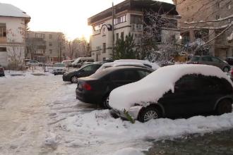 Cele mai scăzute temperaturi din țară, înregistrate la Brașov. A fost mai frig decât pe Vârful Omu