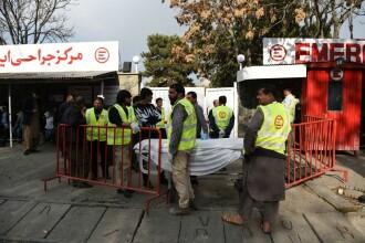 Masacru în Afganistan. Cel puţin 40 de morți şi peste 60 de răniți într-un atentat sinucigaş