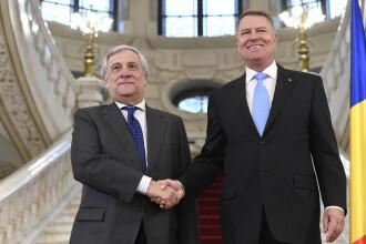 Președintele Parlamentului European către Iohannis: Aveţi un rol foarte important pentru noi